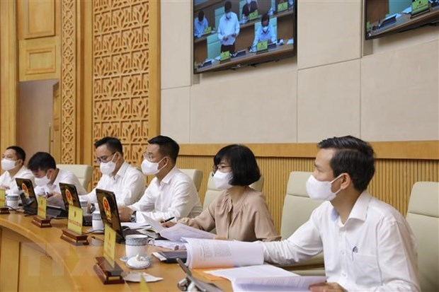Prime Minister Pham Minh Chinh chairs first regular Government meeting hinh anh 3