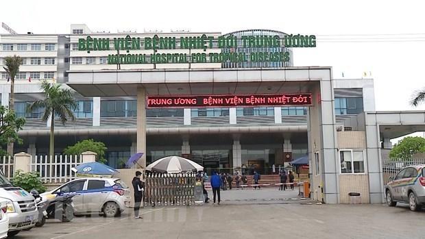 Kim Chung facility of national tropical diseases hospital under lockdown hinh anh 1