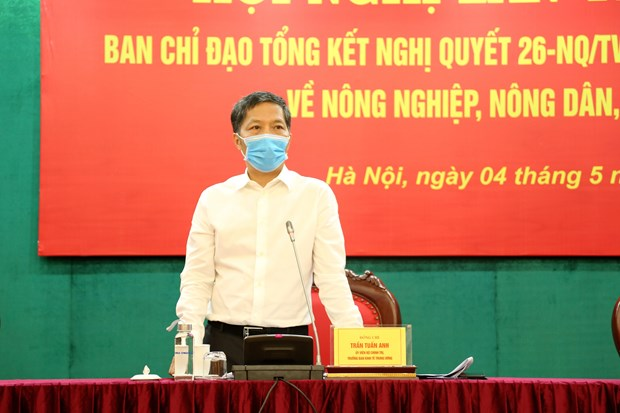 Steering committee talks review of implementation of Party resolution on agriculture hinh anh 2