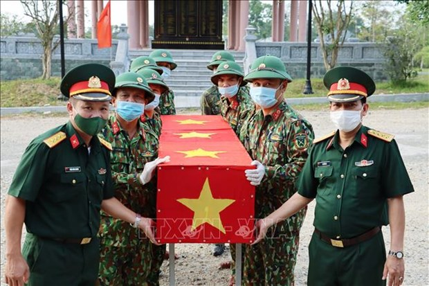 Thua Thien Hue lays 14 sets of martyrs' remains to rest hinh anh 1