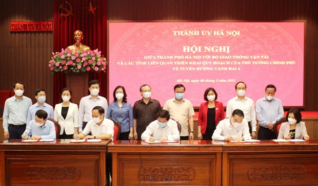 Transport minister supports construction of Ring Road No.4 hinh anh 1