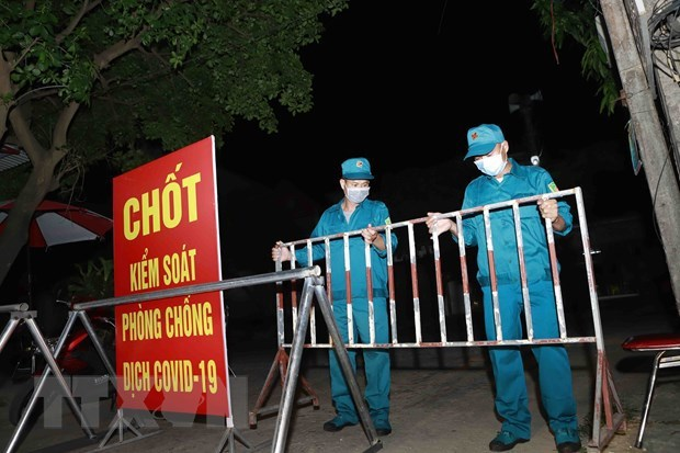 Vinh Phuc province reports 25 locally-transmitted COVID-19 cases to date hinh anh 1