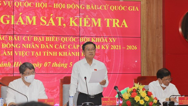 Early voting to be held in some polling stations of Truong Sa district hinh anh 2