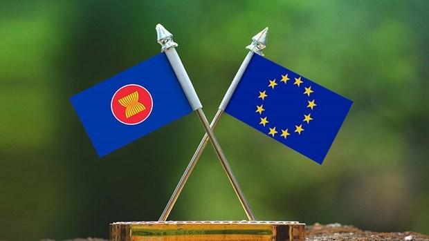 EU-ASEAN Strategic Partnership Blue Book 2021 launched hinh anh 1