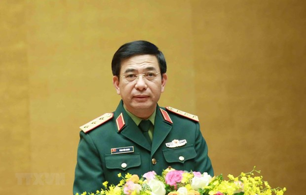 Vietnamese, Cambodian defence ministers hold online talks hinh anh 1
