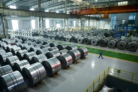 Steel prices increase on global issues: ministry hinh anh 1