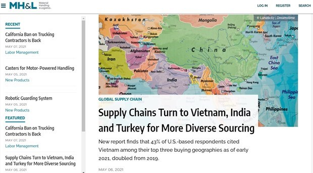 Vietnam among top three buying geographies of US firms hinh anh 1