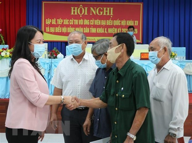 Voters in An Giang pin high hope on candidates for upcoming elections hinh anh 1