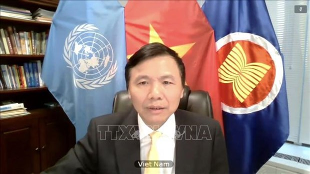 Vietnam attends UNSC meeting on protection of children amid COVID-19, armed conflicts hinh anh 1