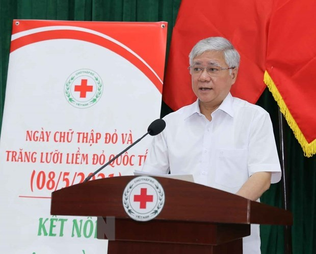 Humanitarian Month 2021 officially launched hinh anh 1