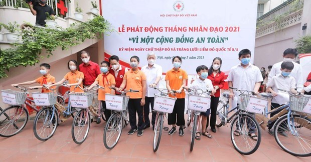 Humanitarian Month 2021 officially launched hinh anh 2