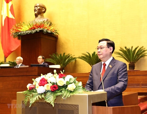 Newly-elected NA Chairman receives more congratulations hinh anh 1