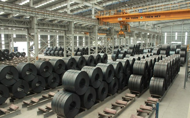 Hoa Phat's steel export volume increases 3.5 fold in April hinh anh 1