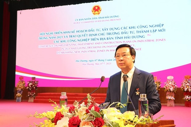 Hai Duong province to develop 10 - 15 more industrial parks hinh anh 1