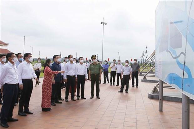 Top legislator attends ground-breaking of national highway upgrade in Hai Phong hinh anh 2