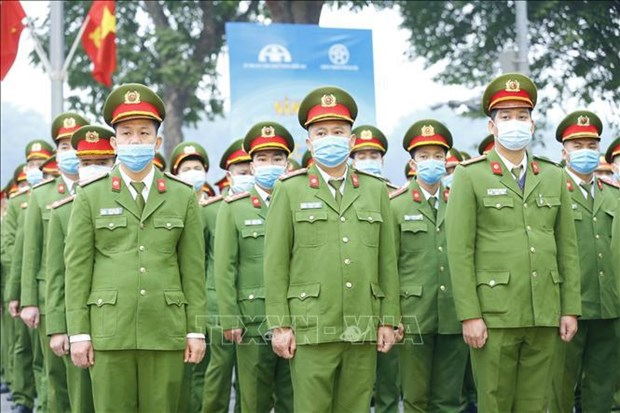 Public security forces ready to ensure safety of general election hinh anh 1