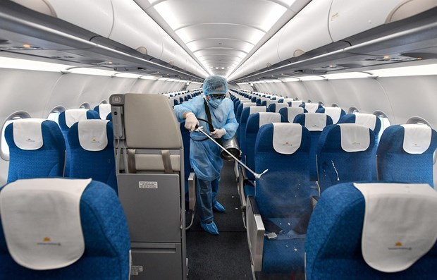 Vietnam Airlines upgrades pandemic prevention level hinh anh 1