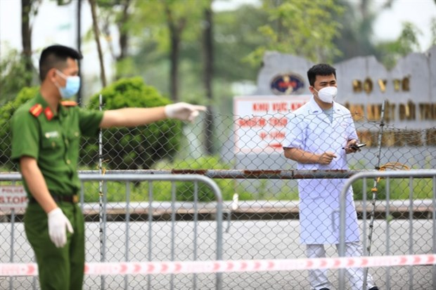 Indian coronavirus variant found in COVID-19 cases linked to Hanoi-based hospital hinh anh 1