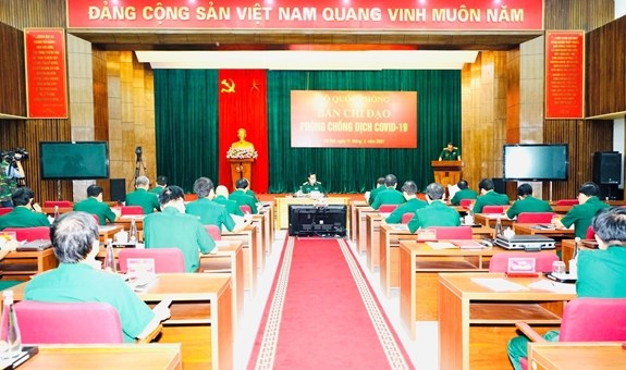 Army activates control system at highest level for COVID-19 prevention hinh anh 2