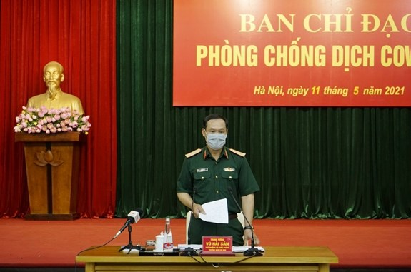 Army activates control system at highest level for COVID-19 prevention hinh anh 3