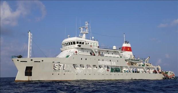 Brigade 955 firmly safeguarding sovereignty over seas, islands hinh anh 1