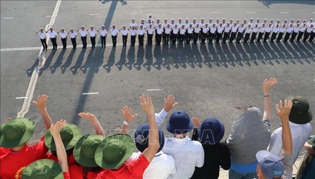 Brigade 955 firmly safeguarding sovereignty over seas, islands hinh anh 2