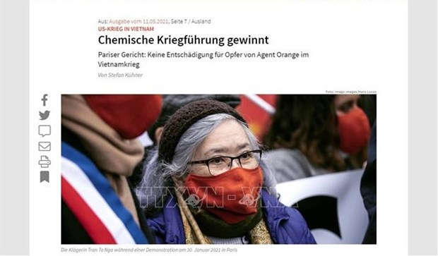 German media: plaintiffs and supporters of Tran To Nga's lawsuit not deterred hinh anh 1