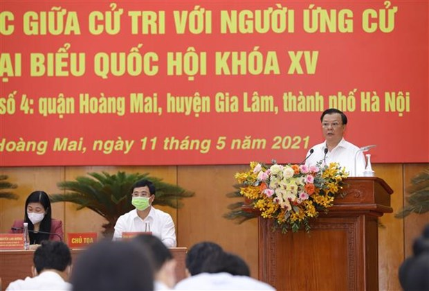 Hanoi Party leader presents eight-point plan of actions hinh anh 1