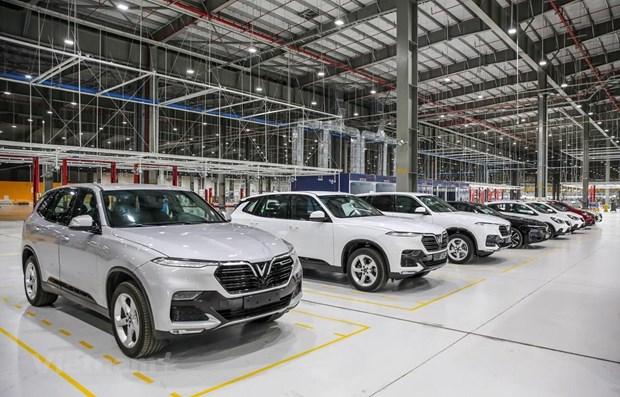 VAMA members see slight fall in April car sales hinh anh 1