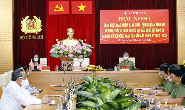 Public security ministry launches campaign to protect security, safety for elections hinh anh 2
