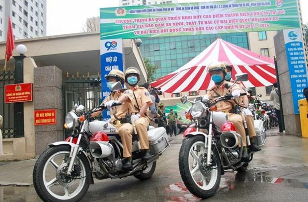 Public security ministry launches campaign to protect security, safety for elections hinh anh 1