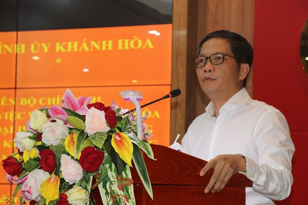 Khanh Hoa should develop strong sea-based economy: Party official hinh anh 1