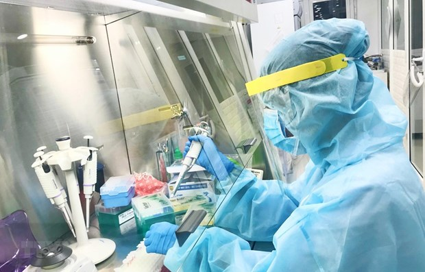 Vietnam's COVID-19 testing capacity improved strongly: official hinh anh 1