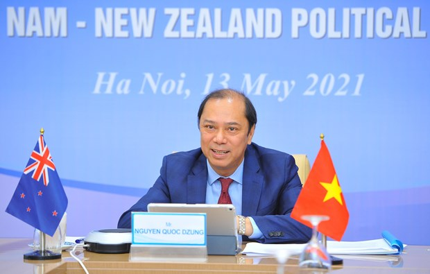 Vietnam, New Zealand hold 12th political consultation hinh anh 2