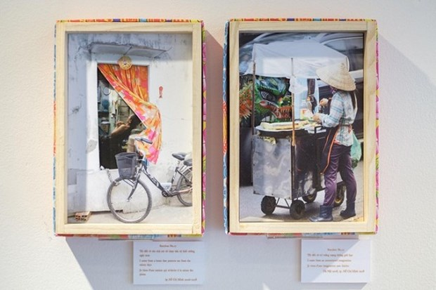 French artists tell Vietnamese stories through boxes of artworks hinh anh 1