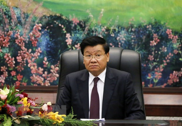 Lao leader thanks Vietnam for support in COVID-19 fight