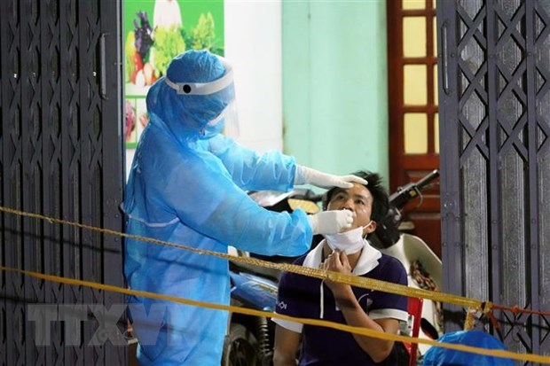 COVID-19: Vietnam records 57 cases on May 16 evening hinh anh 1