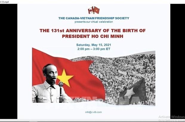 Canada seminar spotlights President Ho Chi Minh's life and career hinh anh 1