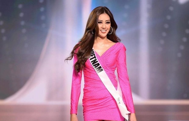 Vietnamese beauty enters Top 21 at Miss Universe 2020 hinh anh 1