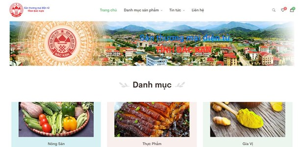 Bac Kan launches OCOP e-commerce floor hinh anh 1