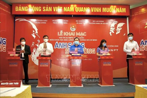 National Olympiad on Marxism-Leninism, Ho Chi Minh's Thought launched hinh anh 2