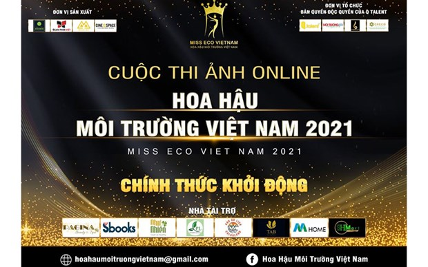 Online photo contest launched for Miss Eco Vietnam 2021 hinh anh 1