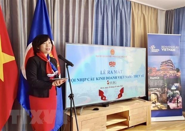 Swiss-Vietnamese Business Gateway to establish representative board hinh anh 1