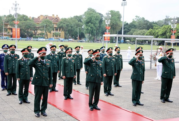 Leaders pay tribute to President Ho Chi Minh on birth anniversary hinh anh 6