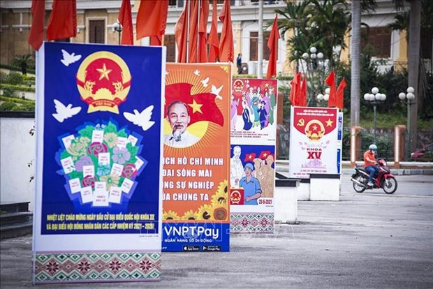 Election preparations ready for voters to go to the polls hinh anh 1