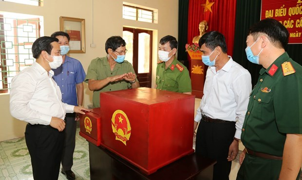 Second national conference on general elections held hinh anh 2