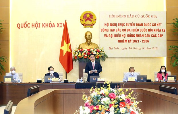 All localities resolved to organise elections on schedule, successfully: NA leader hinh anh 1