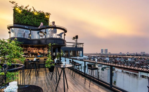 Hanoi has four hotels with rooftops listed in world's Top 25 hinh anh 1