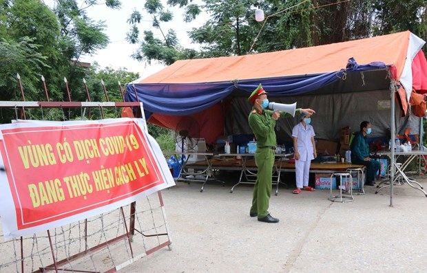 Bac Giang, Bac Ninh launch social distancing measures hinh anh 1
