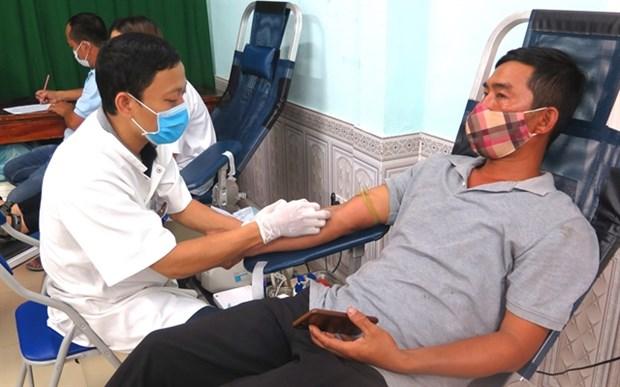 CIHBT facing severe blood shortage amid pandemic hinh anh 1